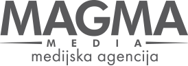 MAGMA MEDIA temen logotip